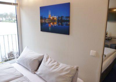 hotelzimmer luebeck - hotel am muehlenteich16