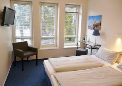 hotelzimmer luebeck - hotel am muehlenteich3
